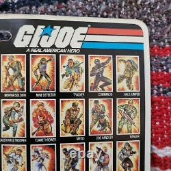 K2100266 Storm Shadow Moc Mint On Sealed Card 1983 Gi Joe Cobra Vintage