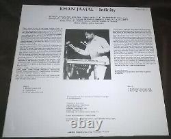 Khan Jamal Infinity LP Jam'brio Extremely Rare Original Private Spiritual Jazz