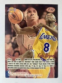 Kobe Bryant 1996-97 Ultra Platinum Medallion P-52 Rookie RC SSP Rare /200
