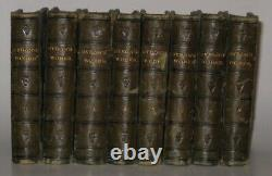 LEATHER SetWorks of LORD BYRON! (FIRST EDITION! 1825)Shelley Poetry Keats RARE