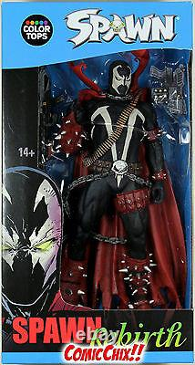 McFarlane Toys Color Tops MASKED SPAWN ACTION FIGURE Rebirth