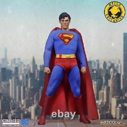 Mezco Superman 1978 Edition Christopher Reeve ONE12 COLLECTIVE IN STOCK