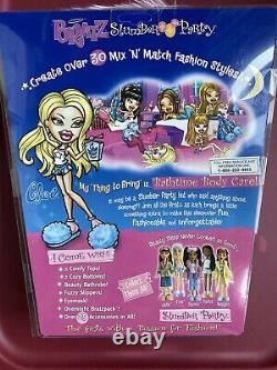 Mga Bratz Slumber Party Cloe 1st Edition Original Nib Nrfb Fashion Doll Sealed