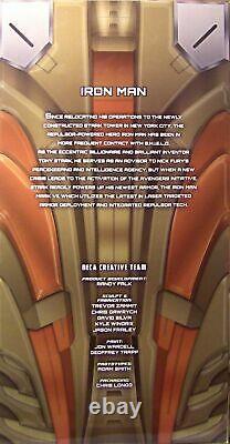NECA Iron Man Midas Gold Armor Mark XXI 1/4 Scale 18 Marvel Action Figure New