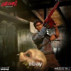 One12 Collective ASH ACTION FIGURE Mezco Evil Dead 2 Dead by Dawn