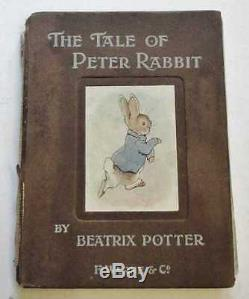 POTTER The Tale of Peter Rabbit (1902, First Commercial Edition) 1902 1st Editio