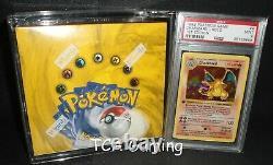 Pokemon PSA 9 Charizard 4/102 1ST EDITION Base Set + Original SEALED BOOSTER BOX