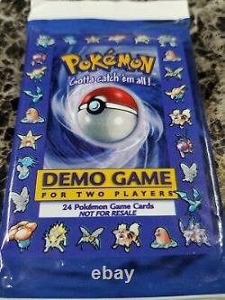 Pokemon Sealed DEMO Pack! Original Pokemon Booster used for TCG Promotion