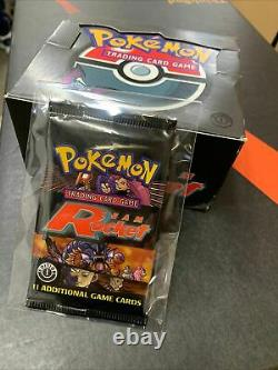 Pokemon Team Rocket 1st Edition Booster Pack and Original Booster Box