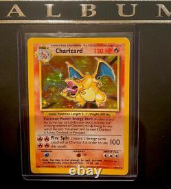 Pokemon card Charizard Holo 4/102 WOTC Original Base Set Near Mint