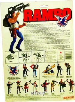 RAMBO The Force of Freedom Fire-Power Rambo Figure New! MOSC