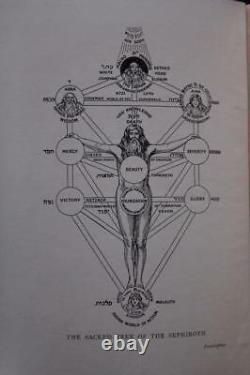 RARE 1stEd 1913 SECRET DOCTRINE IN ISRAEL ZOHAR KABAL COSMOLOGY OCCULT SCIENCES