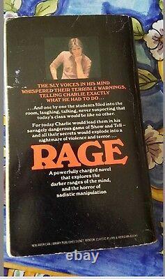 Rage A novel by Richard Bachman RARE COLLECTABLE