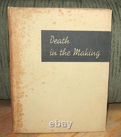 Robert Capa Death in the Making Gerda Taro Original 1938 HC Spanish Civil War