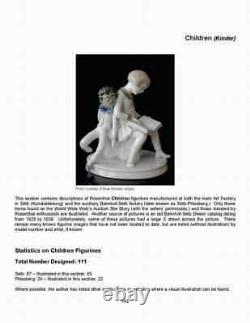 Rosenthal Porcelain Figurines Book Collectors' Must Have! Color, Hardcover