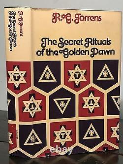 SECRET RITUALS OF THE GOLDEN DAWN Torrens, 1st 1973 MAGICK OCCULT CEREMONIES