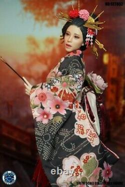 SUPER DUCK 1/6 SET052 Japanese Beauty Costume Clothes w Head Fit PH Body