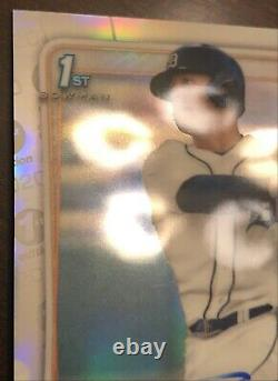 Spencer Torkelson 2020 Bowman Chrome Draft 1st Edition On Card Auto #/30 Tigers