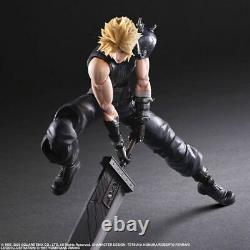 Square Enix Final Fantasy VII 7 Remake Play Arts Kai Cloud Strife Action Figure