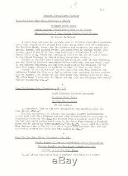 Stephen King BEFORE THE PLAY Signed 44 page Manuscript Shining Excised Prologue