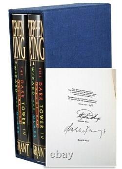 Stephen King DARK TOWER Gunslinger Signed Limited First Edition Complete 9 vol