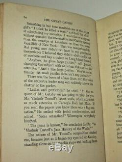 THE GREAT GATSBY! (FIRST EDITION/FIRST PRINTING!)1925! F. Scott Fitzgerald RARE