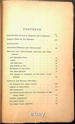 THE MYSTERIES OF MAGIC A. E. Waite, True 1st Ed 1886 OCCULT HIGH MAGICK