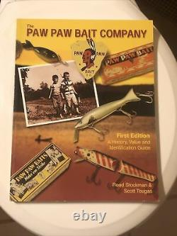THE PAW PAW BAIT COMPANY BOOK 1st EDITION AUTOGRAPHED