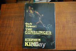 The Dark Tower THE GUNSLINGER by Stephen King (1982) HCDJ 1st Edition
