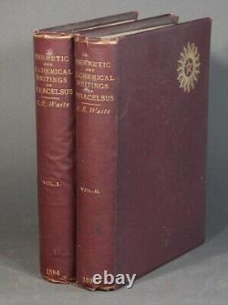 The Great Paracelsus / Hermetic and alchemical writings of Aureolus 1st ed 1894