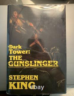 The Gunslinger by Stephen King (1982) Grant 1st Edition The Dark Tower