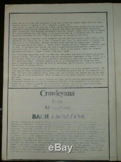 The New Equinox, Vol 4 No 2, Thelema, Occult, Aleister Crowley, Magick, 1979