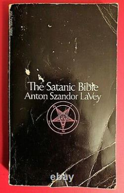The Satanic Bible Signed by Anton Szandor LaVey SIGNED 1st Edition 1969