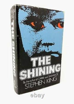 The Shining by Stephen King UK First Edition 1st/1st