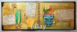 Trader Sam's Drink Menu Featuring 1st Edition Mugs Disneyland Hotel Tiki Bar