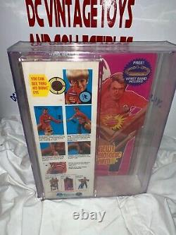 Vintage Misb 3rd/ed Biosonic Six Million Dollar Man Kenner Bionic Afa 70