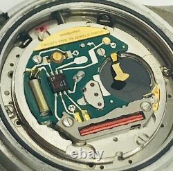 Vintage TAG HEUER 1st Edition Pilot Aviator Chronograph Quartz Mens SS Watch