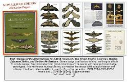 WWI Aviation History and Flight Badges (1914 -1918), 4 Books Complete Series