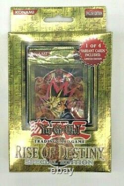 Yu-Gi-Oh Special Edition Rise of Destiny Sealed English Original Ed NEW Yugioh