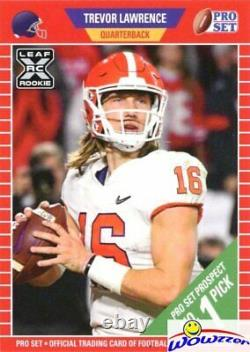 (10) Trevor Lawrence 2021 Pro Set #ps1 First Ever Rookies Mint Limited Edition
