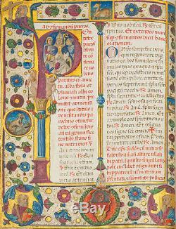 1460 Raffiné Pontifical Lumineux Dans L'atelier De Dalemagna Et Crivelli