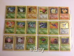 151/150 Carte Originale Pokemon Set All Holos 1er Cartes Base Edition