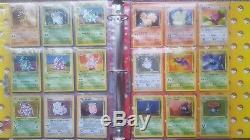 151 Original Binder & Carte Pokemon Set All Holos 1er Cartes Base Edition
