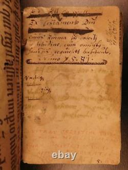 1578 Magnus Paradisus Animae Albertus Éthique Métaphysique Dans La Ville Médiévale Manuscrit