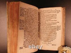 1581 Espagnol Inquisition & Loyola Confessor Manual Juan Polanco Jésuite Espagnol