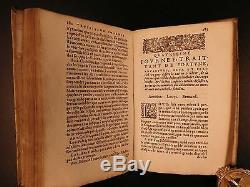 1582 1ed Torquemada Hexaméron Démonologie Exorcismes Poltergeists Fées Occultes