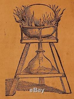 1589 Magiae Naturalis Par Porta Magique Alchemy Poison Gunpowder Sorcières Occultes