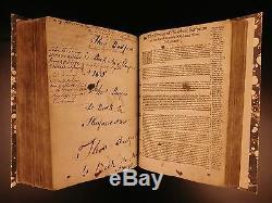 1597 Genève Bible & Nouveau Testament Ancien Apocryphes Grashop Bible Tableau Puritains