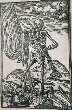 1634 Rare 1st-ed Apprendre À Vivre & Die + Antique Woodcuts King James Bible 1611
