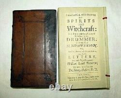 1668 Witchcraft Glanvill Occult Devil Satan Magic Ghost Demon Bible Sorcellerie Sexe